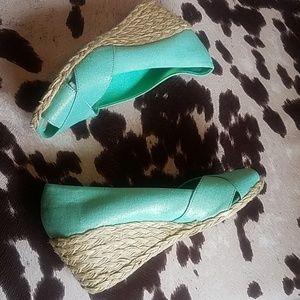 Ralph Lauren Shoes - Ralph Lauren Cecilia Wedges, NWOB